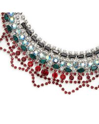 Tom Binns | Multicolor Editorialist Exclusive: Emerald And Ruby Scallop Necklace | Lyst