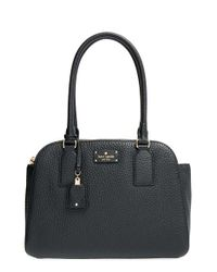 kate spade new york | Black 'kendall Court - Small Elissa' Tote | Lyst
