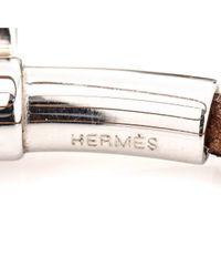 Hermès - Metallic Guaranteed Authentic Pre-Owned Cadena Choker (Elephant) - Lyst