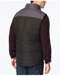Weatherproof | Black Vintage Colorblocked Puffer Vest for Men | Lyst