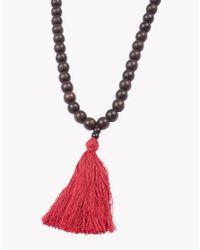 DSquared² - Brown Dan's Surfer Necklace for Men - Lyst