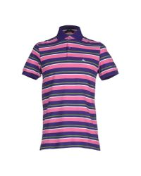 Etro | Purple Polo Shirt for Men | Lyst