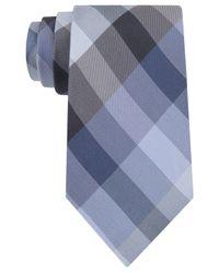 Kenneth Cole Reaction - Blue Celeste Plaid Tie for Men - Lyst