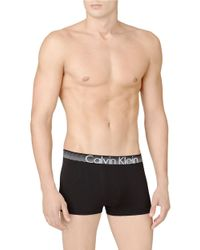 Calvin Klein | Black Logo Trunks for Men | Lyst