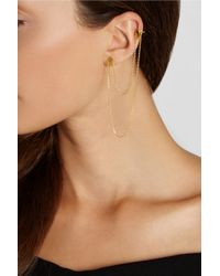 Maria Black | Metallic D'Arling Gold-Plated Earring | Lyst