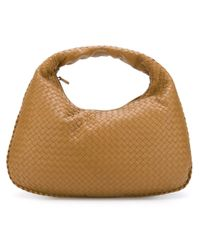 Bottega Veneta | Brown Junior Intrecciato Nappa Large Veneta Bag | Lyst