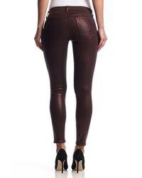 Hudson Jeans - Purple Krista Ankle Super Skinny - Lyst