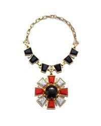 Gerard Yosca   Metallic Starburst Deluxe Necklace   Lyst