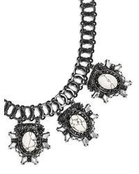 BaubleBar - Metallic Howlite Alchemist Collar - Lyst