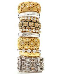 Roberto Coin | Metallic 18k Diamondstation Ring Size 65 | Lyst