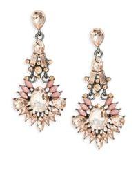 Catherine Stein | Pink Chandelier Drop Earrings | Lyst