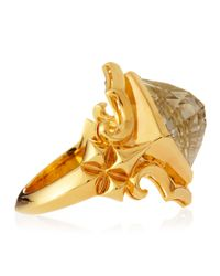 Stephen Webster | Yellow 14k Vermeil Superstud Crystal Haze Ring | Lyst