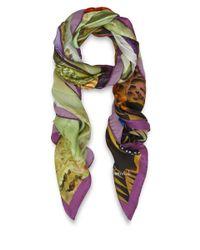 Maia Franceschi - Green Studio Silk Scarf - Lyst