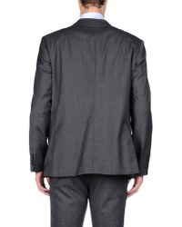 Class Roberto Cavalli - Gray Blazer for Men - Lyst