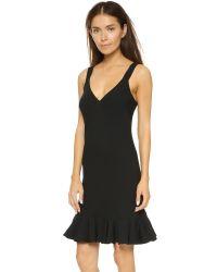 Elle Sasson | Alice Silk Dress - Black | Lyst