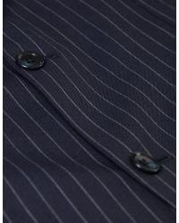 Jules B - Blue Striped Two Piece Suit for Men - Lyst