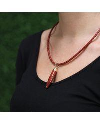 Pamela Huizenga - Metallic Brazilian Agate Pendant - Lyst