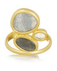 Pippa Small | Metallic 18karat Labradorite Ring | Lyst