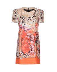 Piccione.piccione - White Short Dress - Lyst