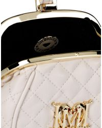 Love Moschino - Natural Clutches - Lyst