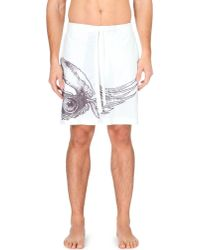La Perla | White Jacquard Self-tie Swim Shorts - For Men for Men | Lyst