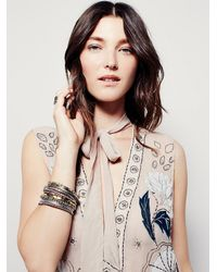 Free People - Natural Stuck On You Embellished Maxi - Lyst