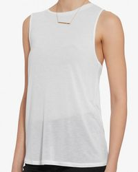 Rag & Bone - /jean Exclusive Concert Tank: White - Lyst