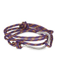 Miansai | Purple Rope Wrap Bracelet for Men | Lyst