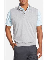 Fairway & Greene | Gray 'old School' Button-up Vest for Men | Lyst