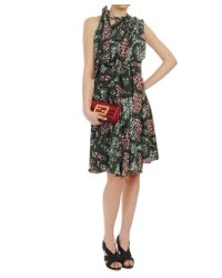 Marni | Green Exclusive Printed Technocrepe Dress | Lyst