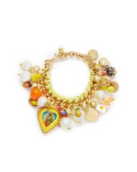 Venessa Arizaga | Multicolor 'meet Me In The Tropics - Banana' Bracelet | Lyst