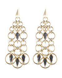Alexis Bittar - Metallic Chainmail Chandelier Post Earring You Might Also Like - Lyst