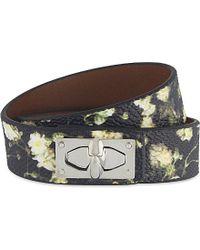Givenchy - Multicolor Shark Lock Bracelet - For Women - Lyst
