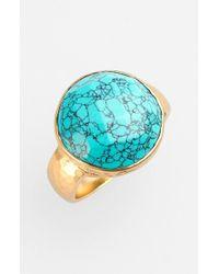 Melinda Maria | Metallic 'kalena' Stone Ring | Lyst