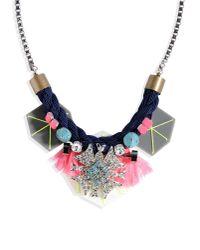 Cecilia Ma | Blue Necklace | Lyst