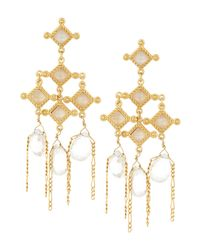 Stephanie Kantis - Metallic Venetian Chandelier Dangle Earrings - Lyst