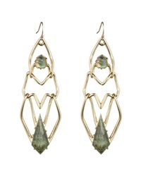 Alexis Bittar | Metallic Kinetic Gold Geometric Link Earring You Might Also Like | Lyst