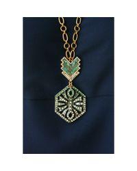 Lulu Frost | Metallic Ortigia Long Pendant Necklace | Lyst