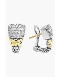 Lagos | Metallic 'diamond Lux' Stud Earrings | Lyst