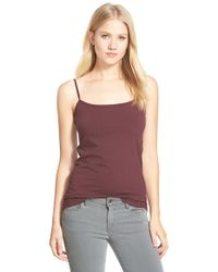 Halogen | Purple 'Absolute' Camisole | Lyst