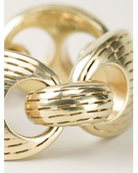 Vaubel - Metallic Chunky Ridge Chain Bracelet - Lyst