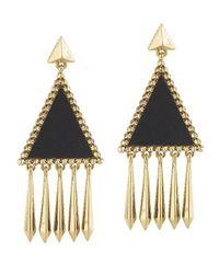 House of Harlow 1960 - Metallic Del Sol Chandelier Earring - Lyst