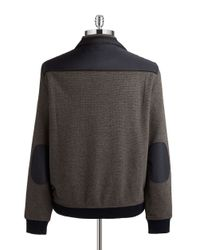 Bugatti | Brown Quarter-zip Sweater for Men | Lyst
