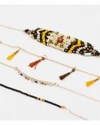 Zara | Multicolor Colored Feather Bracelets | Lyst
