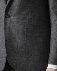 Jaeger - Gray Glen Check Modern Jacket for Men - Lyst