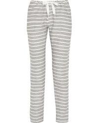 lemlem | Gray Rucha Cropped Pants | Lyst