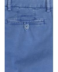 Etro - Cotton Bermuda Shorts - Blue for Men - Lyst