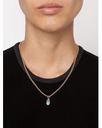 Irene Neuwirth   Metallic 18kt Gold And Lightning Ridge Opal Pendant   Lyst