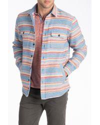 Faherty Brand - Blue Durango Workshirt for Men - Lyst