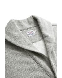 Faherty Brand | Gray Herringbone Shawl Cardigan for Men | Lyst